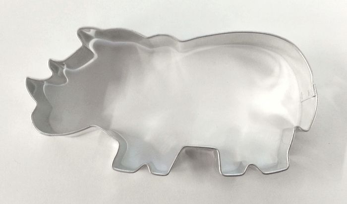 Vykrajovátko Nosorožec 8,5 cm